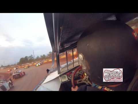 Jeremy Williams Econo Bomber In-Car Dixie Speedway 6/17/17!