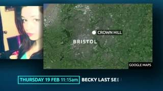 Two people arrested on suspicion of kidnap and murder of Becky Watts