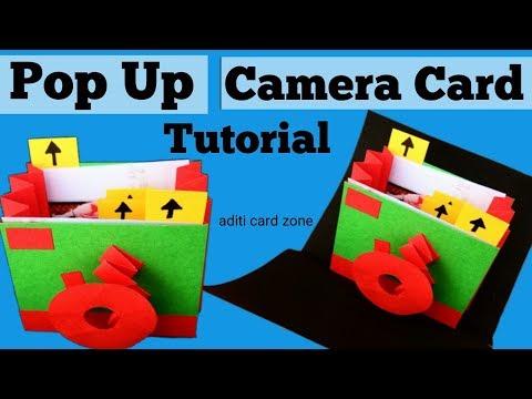 Unique Instax card tutorial   Pop up card tutorial   Friendship Day Gift Ideas  