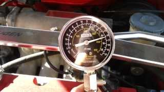 pomiar ciśnienia sprężania h22a5 silnik 80 c prba sucha