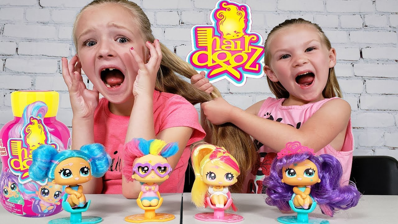 Opening Cute Collectible Hairdooz Hairstyle Toys!!