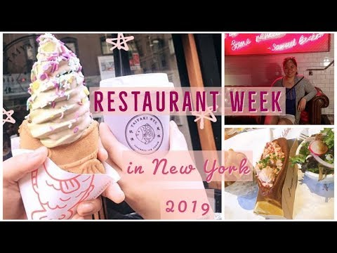 RESTAURANT WEEK NYC 2019