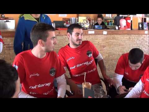 F1 FANS KART Challenge  ATHENS 2014 - RACE 3 - ( 3D ) - Penalty and podium