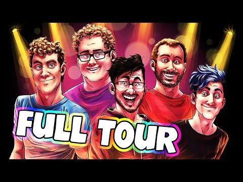 Markiplier's You're Welcome Tour: FULL DOCUMENTARY