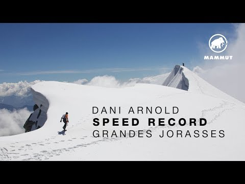 Dani Arnold Speed Record on the Grandes Jorasses