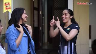 Reel meets Real: A day out with Saina Nehwal and Parineeti Chopra