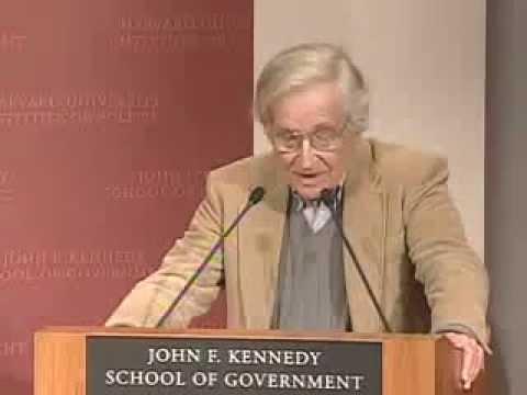 Chomsky & Dershowitz Debate - Future of Israel and Palestine Part 1