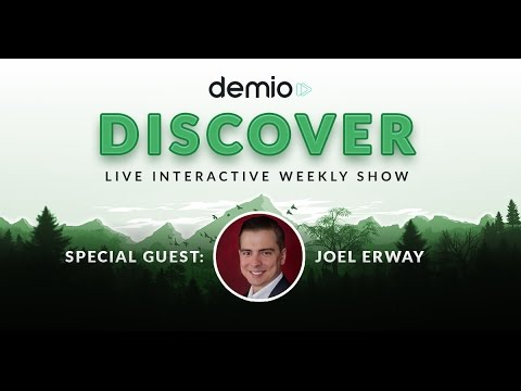 Webinar Metrics and Benchmarks with Joel Erway, Founder of The Webinar Agency - Demio Discover