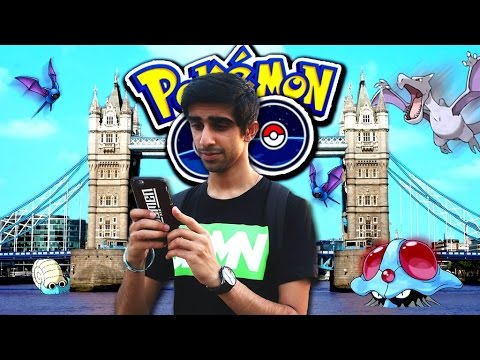 Pokemon Go At The Tower Of London