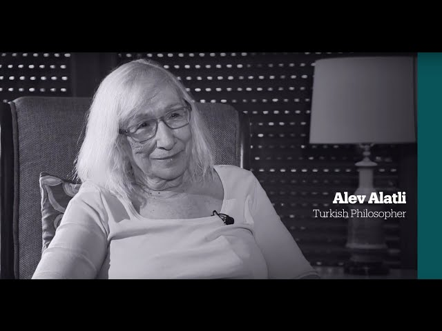 One on One: Interview with Turkish philosopher Alev Alatli
