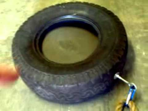 Diy Tire Pull Aka Sled Youtube
