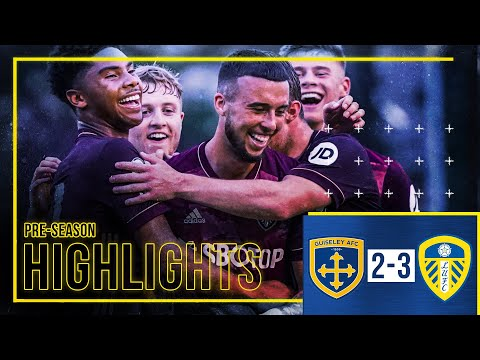 Pre-season Highlights: Guiseley AFC 2-3 Leeds United   Sam Greenwood scores stunning free-kick!
