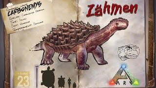 ARK‬: Survival Evolved [GUIDE/Deutsch] ** Carbonemys - Schildkröte zähmen ** (mit Keule)