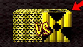 10.000 MINI NUKE TNT'S VS. NUKE TNT (MINECRAFT SMALLEST TNT)