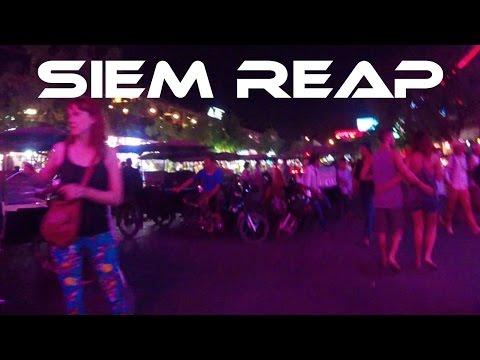 The Pub Street Nightlife Scene in SIEM REAP, Cambodia