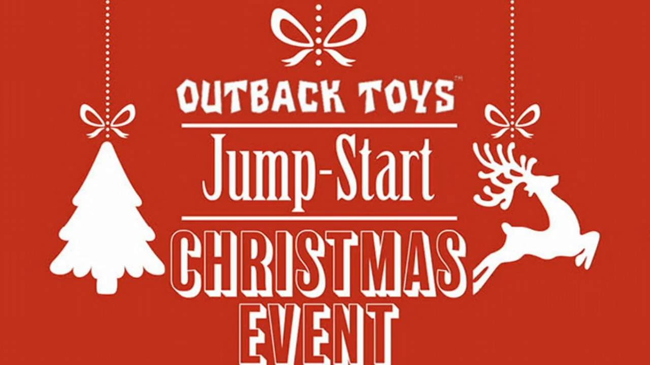 Outback Toys' Jump-Start Christmas Event! - YouTube