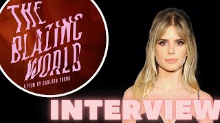 Carlson Young on Directing, Writing, and Starring in The Blazing World