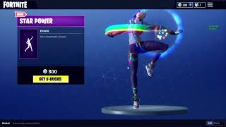 New Emote Star Power Fortnite Bass Boosted
