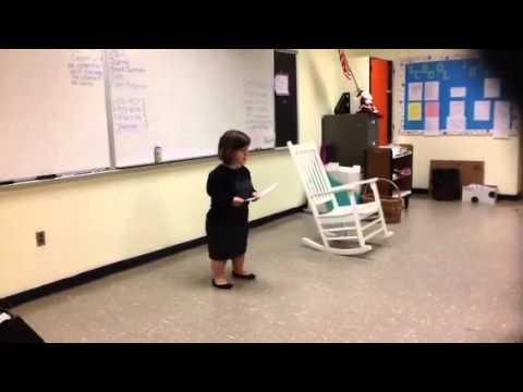 Abigail Adams Middle School Speech