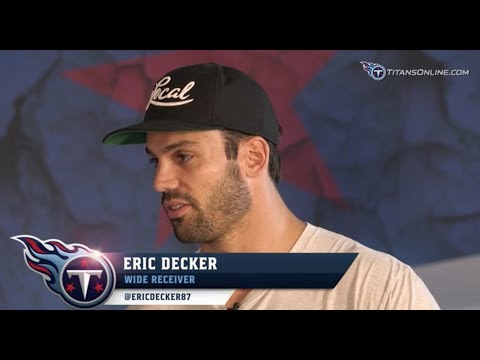 1-on-1 with Eric Decker, Part 2