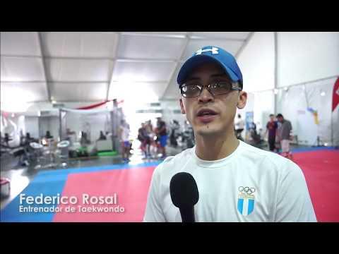 Selección de taekwondo en Barranquilla 2018