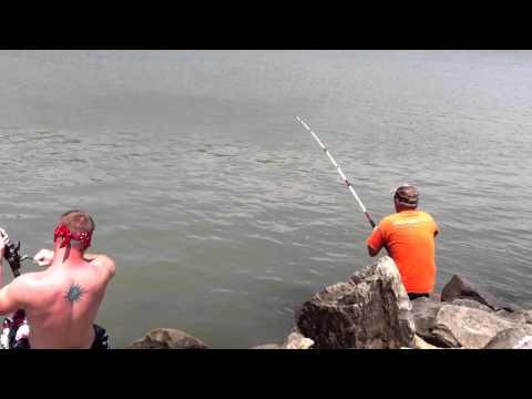 Fishing At Lake Eufaula, Oklahoma: Summer 2012