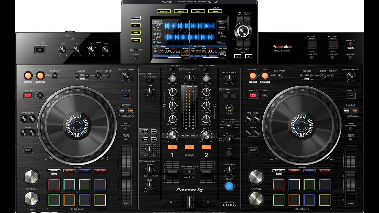 20d5e8cf145 Parkett Gear: Pioneer Dj XDJ RX 2- Touch Screen Search - YouTube