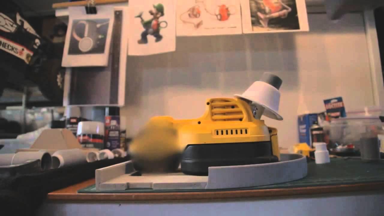 Luigi S Mansion Dark Moon Poltergust 5000 Making Of Video Youtube