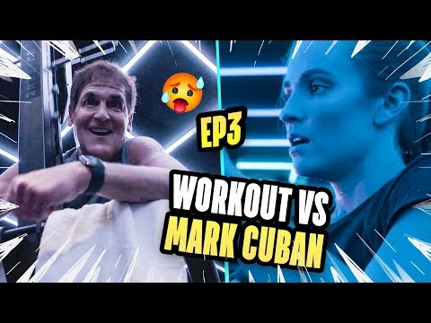 How Did Shark Tank's Mark Cuban Get RICH!? Rachel DeMita Works Out With Dallas Mavericks Owner 😱