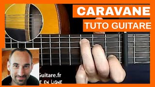 """Raphael """"Caravane"""" Tuto Guitare"""