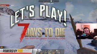 Let's Play! 7 Days to Die Pt 3 with Frank | Basement Gaming Gods