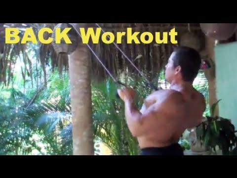 Jungle Muscle BACK Workout!