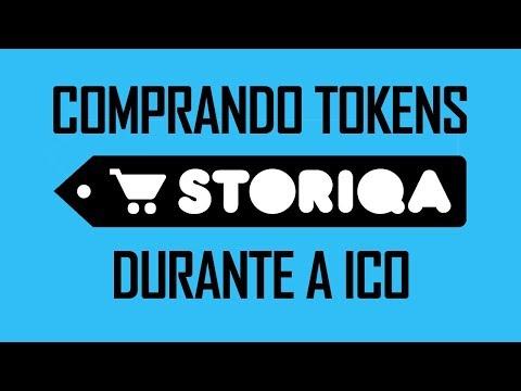 Comprando Tokens Storiqa STQ Durante a ICO Passo a Passo