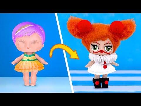 10 лайфхаков и поделок для старых кукол ЛОЛ и Эвер Афтер Хай на Хеллоуин