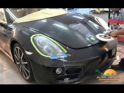 Paint Correction & Opti Coat Porsche Cayman S