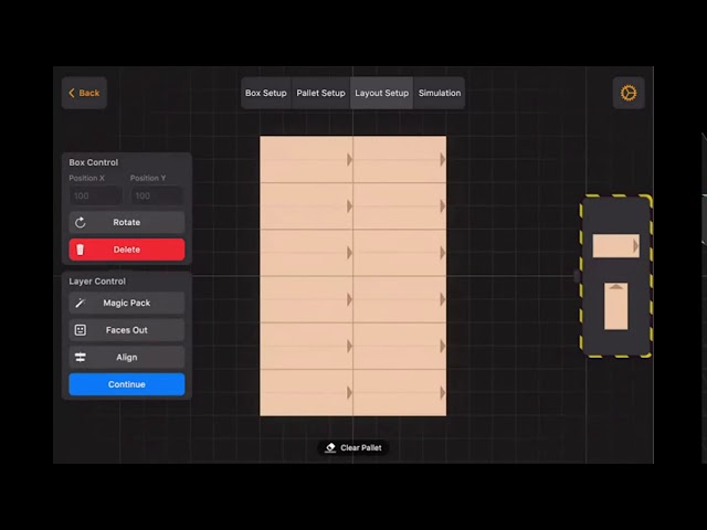 Simulación de un sistema de paletizado colaborativo con #cobots