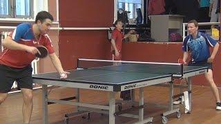 Дмитрий ОСИПОВ vs Александр ЛИБАЦКИЙ, Турнир Master Open, Настольный теннис, Table Tennis