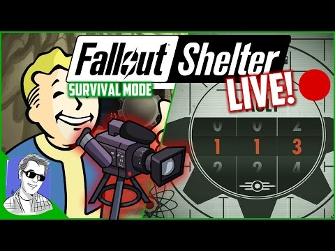 Fallout Shelter Vault 113 Survival Mode Live EP1