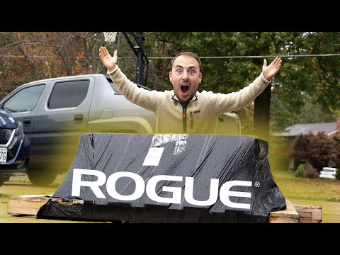 Surprise Package From ROGUE FITNESS - Let's Unbox It!