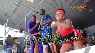 AIGBOVBIOSA live on Stage Advert