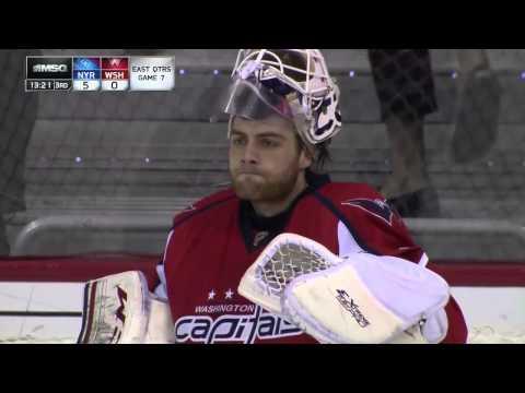 Mats Zuccarello Goal Gm 7 Rangers/Capitals 5/13/2013 MSG Feed