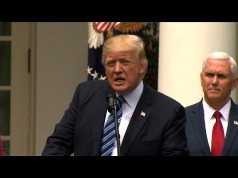 Trump announces trip to Saudi Arabia, Israel, Vatican