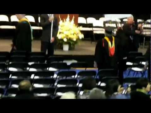 LIU Pharmacy Graduation Day at Brooklyn Campus May 11, 2012 - Walk of Pride by alumni students