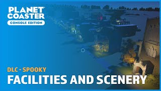 Spooky: Facilities & Scenery Blueprints (No commentary) - DLC - Planet Coaster: Console Edition