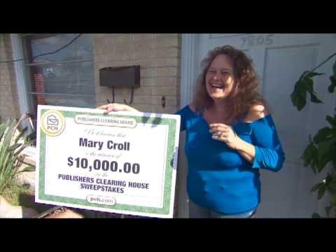 October $10,000 Winner Mary Croll