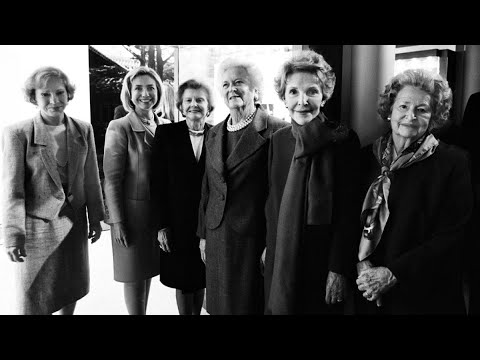 Six Former First Ladies Meet For The First Time. One Is Still Embarrassed.