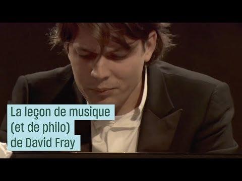 La leçon de musique (et de philo) de David Fray