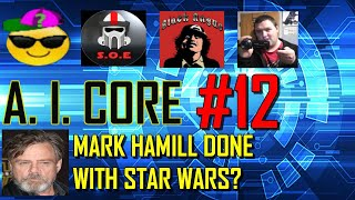Mark Hamill Done With Star Wars? W/ Scouts, Black Angus & Rookie