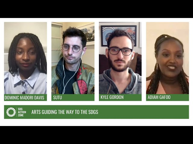 In Conversation – Arts guiding the way to the SDGs