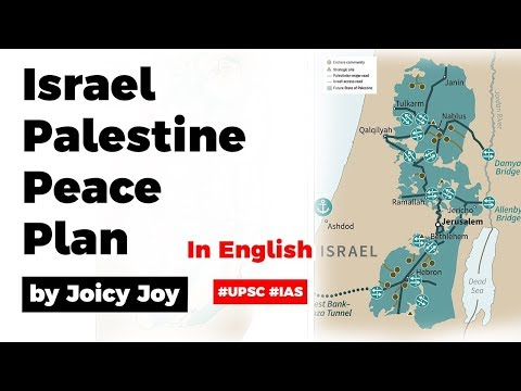 Israel Palestine Peace Plan By US President Donald Trump, Why Palestine Is Dissatisfied With It?